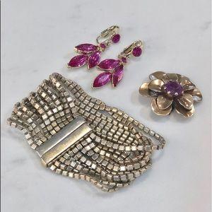 Lia Sophia KIAM FAMILY bracelet & vintage bundle